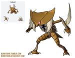 Pokemon Fusion 10 Kabusir! (Kabutops + Pinsir)
