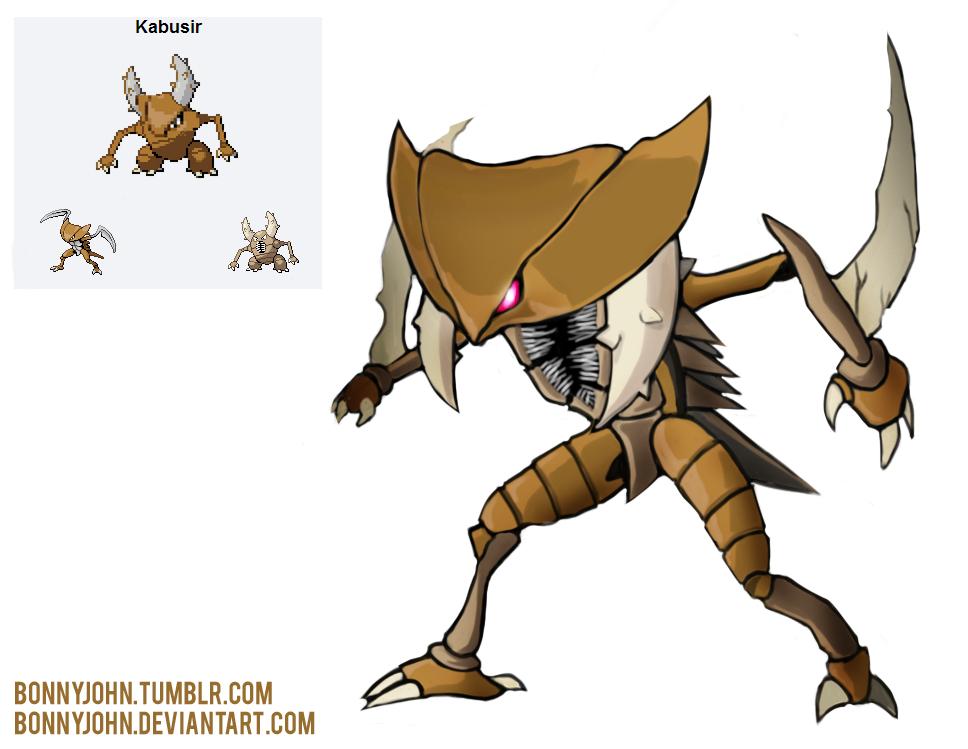 Pokemon Fusion 10 Kabusir! (Kabutops + Pinsir) by ...