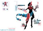 Pokemon Fusion 11 Mewthree (Porygon + Mewtwo)