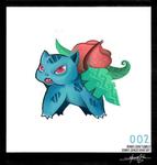 Ivysaur - Pokemon One a Day!