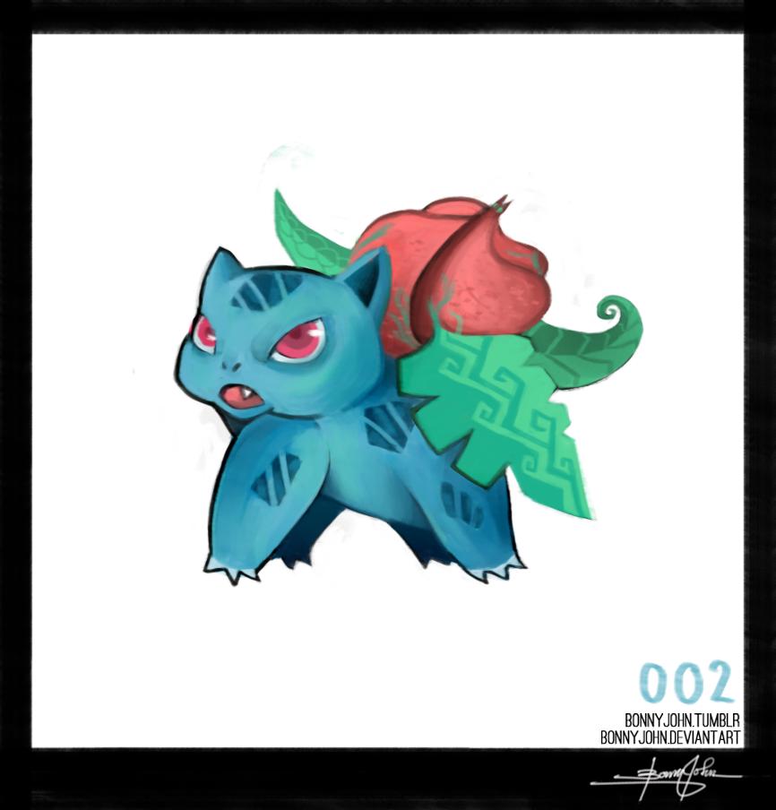 Ivysaur - Pokemon One a Day! by BonnyJohn