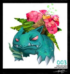 Venusaur- Pokemon One a Day! by BonnyJohn