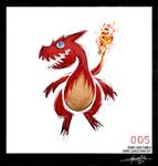 Charmeleon - Pokemon One a Day!