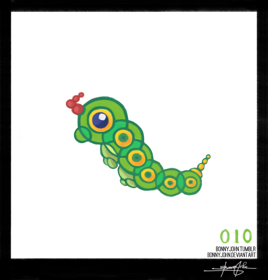 Caterpie Pokemon One A Day 398517552