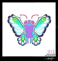 Butterfree! Pokemon One a Day by BonnyJohn