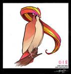 Pidgeot! Pokemon One a Day!