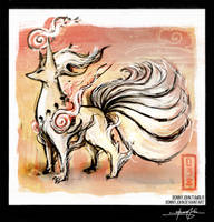 Ninetales - Pokemon One a Day! by BonnyJohn