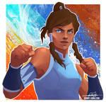 Korra - The Legend of Korra Speed Paint! by BonnyJohn