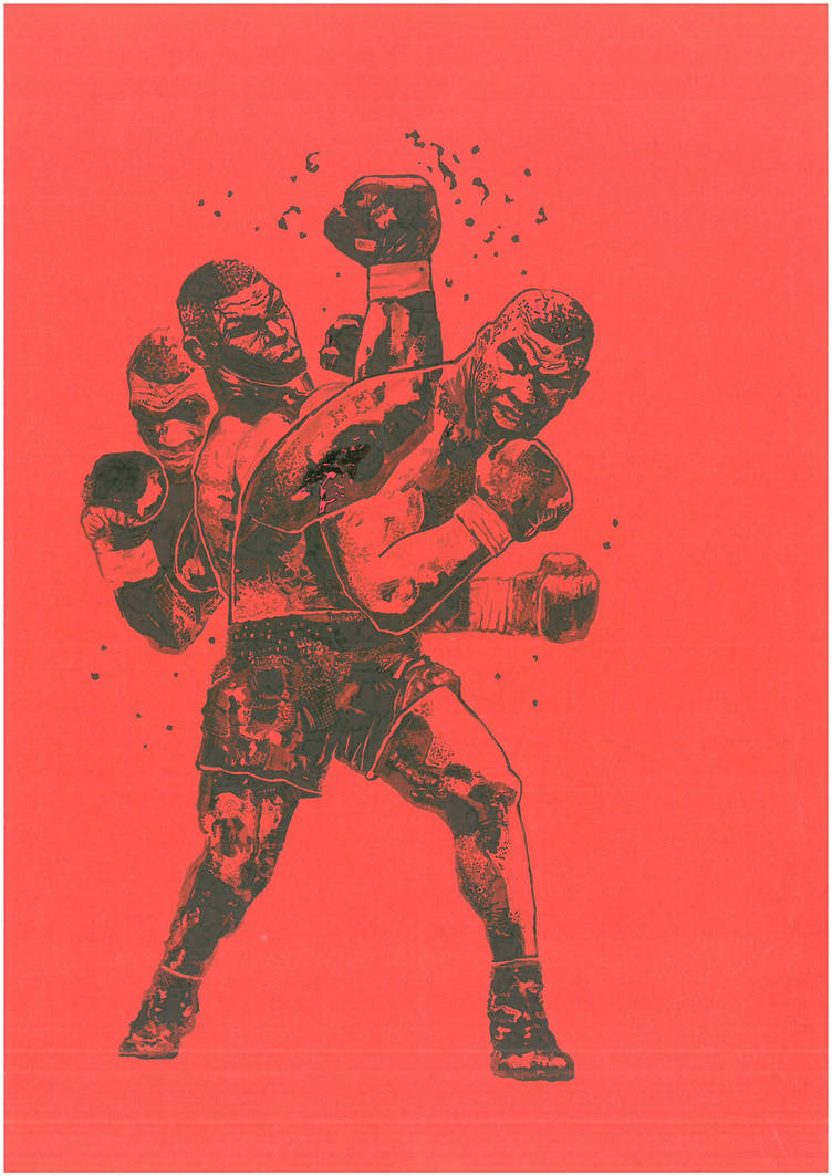 Mike Tyson (Scan) by miroredgrave