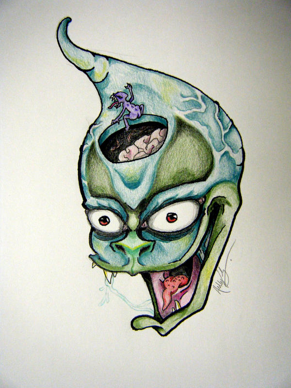 The ugly little brain man by ashesdust on deviantart the ugly little brain man by ashesdust thecheapjerseys Choice Image