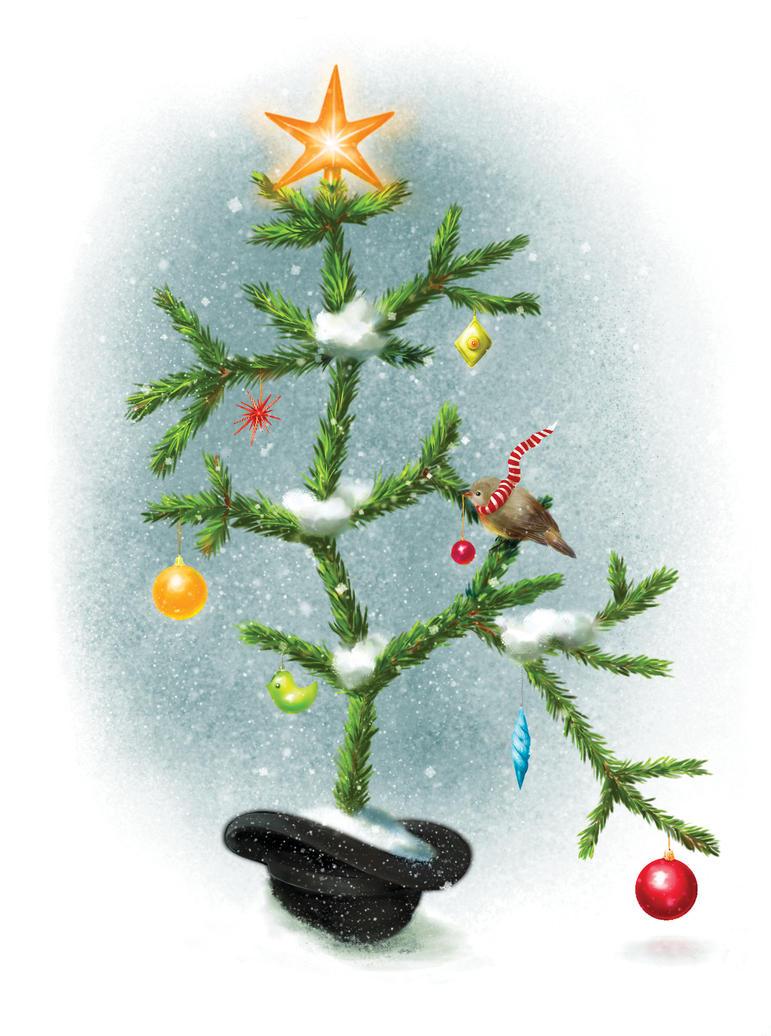 Darwin's Tree of Life Christmas card by littlerac