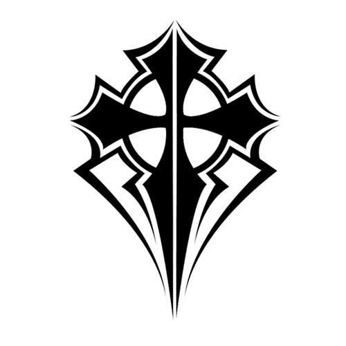 Maori Tattoo Design Wallpaper Wp300369: Tribal Cross 2 By Mcam24 On DeviantArt