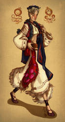 Traditional Slovak costume - AT with s-u-w-i by leevolt