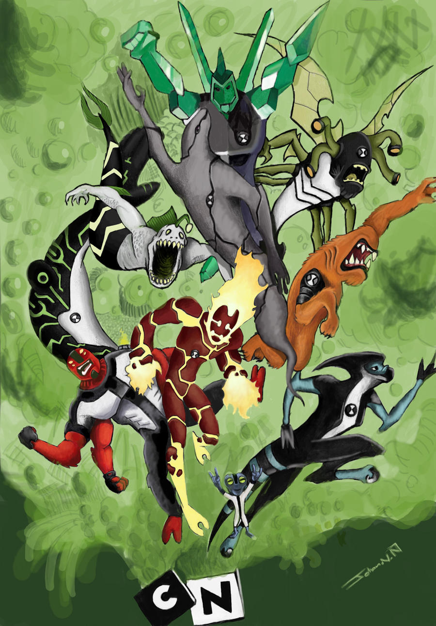 Ben10 love by PhotoshopJoe