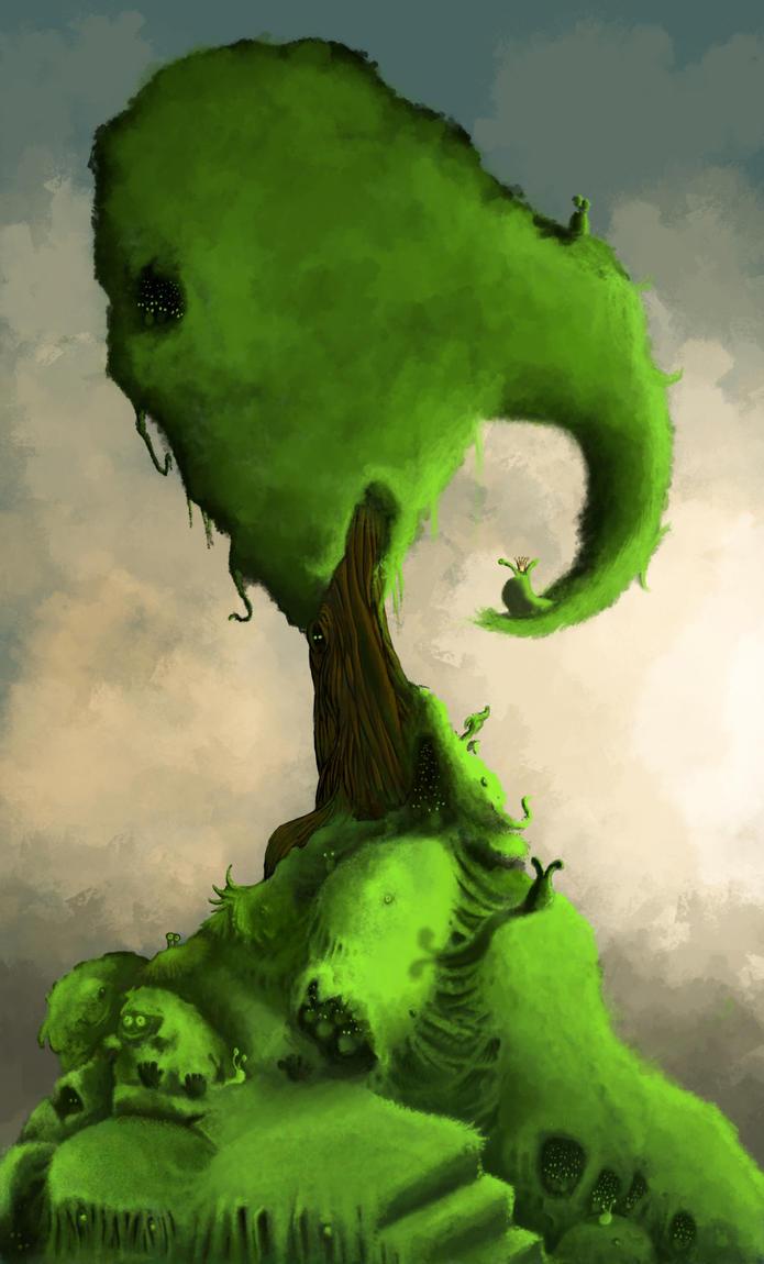 Slug tree by PhotoshopJoe