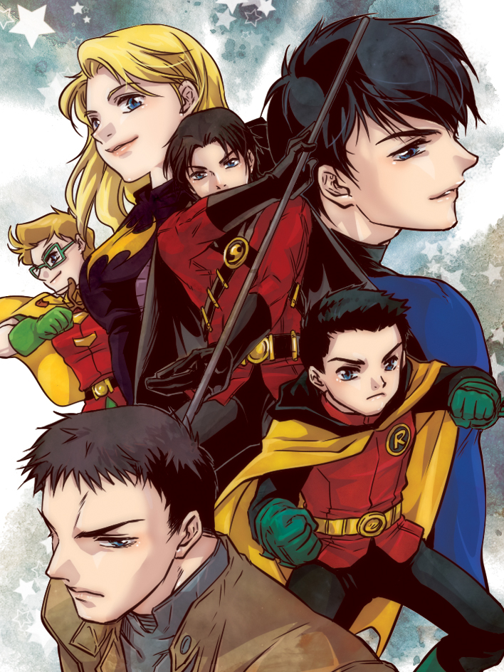now and past robins by baveyoon