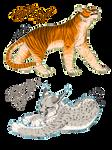 Big Cat Adoptables (2) (CLOSED)