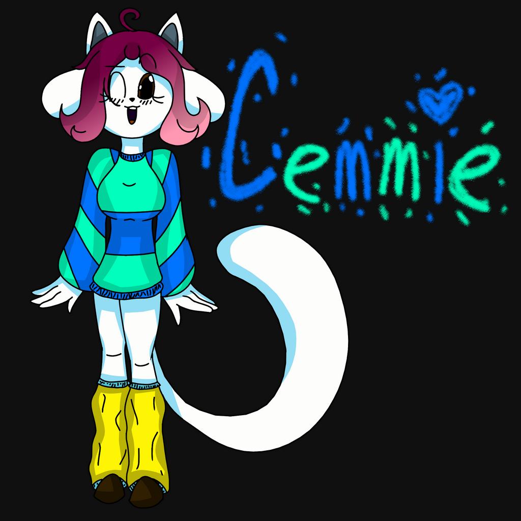 Cemmie temmie from undertale oc by musicmind7 on deviantart - Temmie deviantart ...
