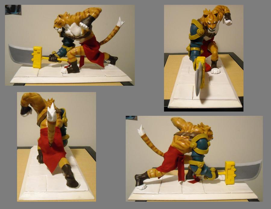 Tiger slash Liger Warrior by SLBertsch