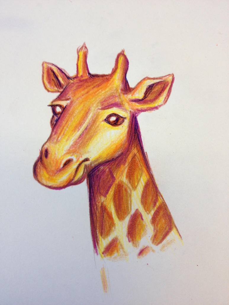 Giraffe by LemonPoppySeedMuffin