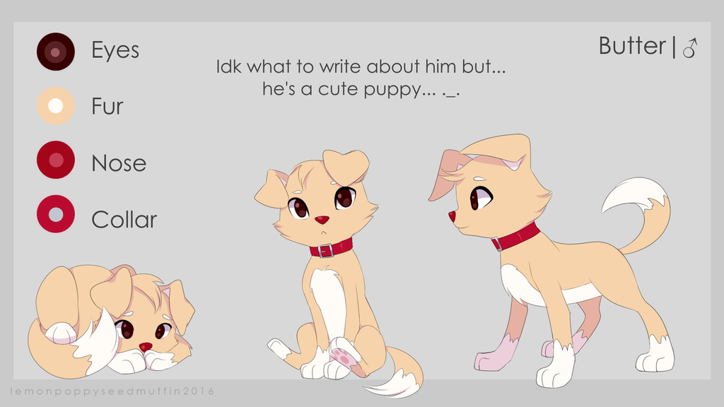 Good Character Design Ideas : Butter oc ref by lemonpoppyseedmuffin on deviantart