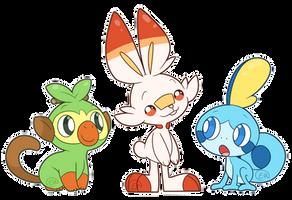 Pokemon Gen 8 by erkythehero23