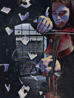 The Music of Erich Zann by Kamrusepas