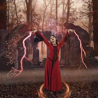 Dark Sorceress 002: The Ruins by Kamrusepas