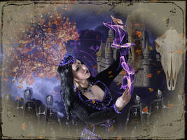 Dark Sorceress 003: Autumn Siege by Kamrusepas