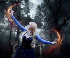 Dark Sorceress 006: Moon Magick by Kamrusepas