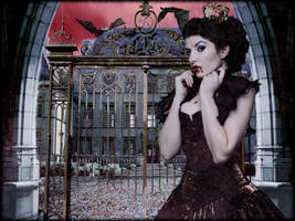 Vampire Queen by Kamrusepas
