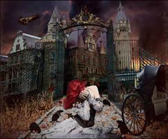 The Asylum Opens by Kamrusepas