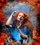 A Fire Inside by Kamrusepas