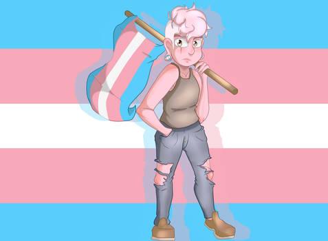 Steven Universe - LGBT+ pride month - Trans Lars