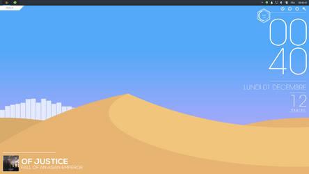 Desktop Screenshot #1 - Dunes [Rainmeter]