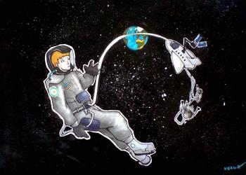 Some Astronauts by KealiaLaw