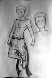 Some random pencil drawing by KealiaLaw