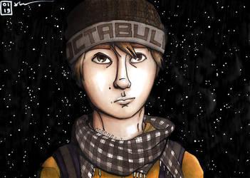'Noctambule' - self portrait by KealiaLaw