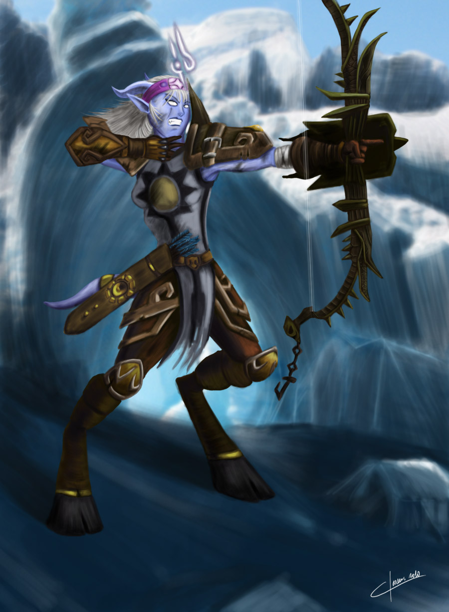 WoW - Hunter draenei by OmegaClarensDraenei Wow