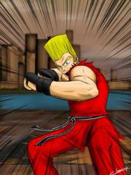 Death fist. Oaaah! by OmegaClarens