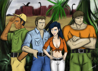 Xenozoic team by OmegaClarens