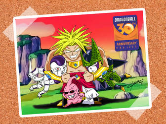 Worst friends! - Dragon Ball 30th Anniversary by OmegaClarens