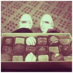 Chocolates on My Lap