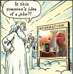 It wasnt a varry good joke by BeatIsMurder