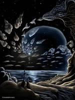 Lunar Spirits in Colour by shadedmirrors