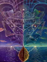 Labyrinth of Consciousness by shadedmirrors