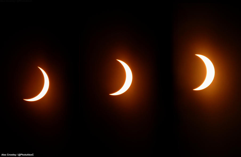 Ending of 2017 Solar Eclipse. by PhotographerAlexC