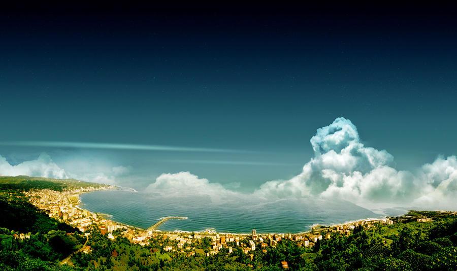 ريزا المدينة الخضراء تركيا