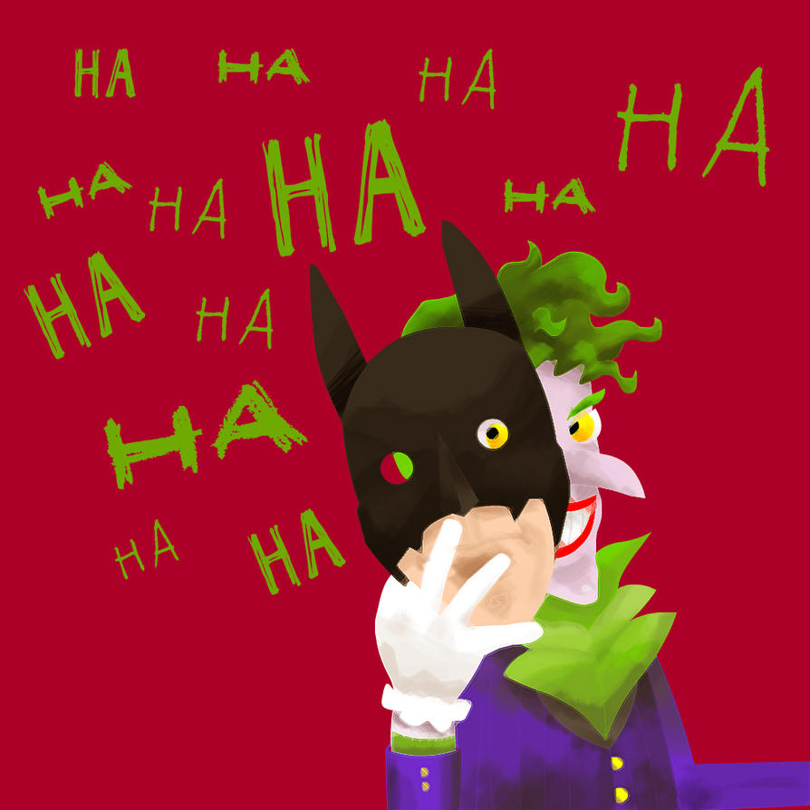Joker and Batman - Coringa by RafaelRegys