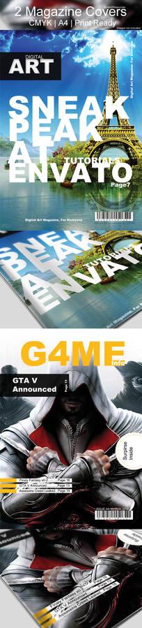 Magazine Cover Art Design